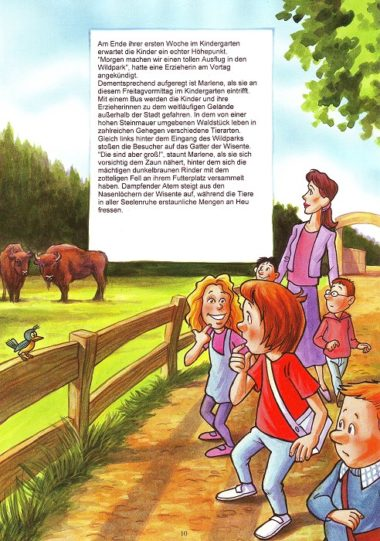 Leseprobe Kindergartenbuch Seite 10