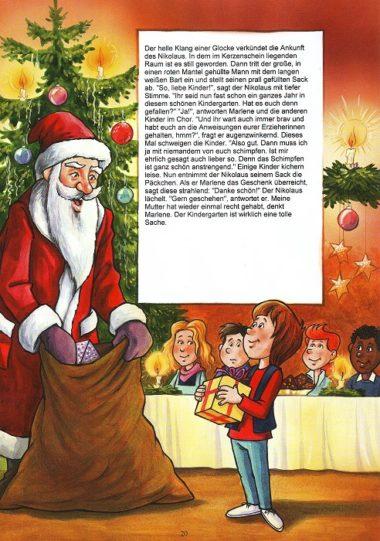 Seite 20 aus dem personalisierten Kindergartenbuch