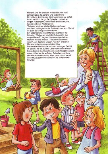Ausflug im Kindergarten - Leseprobe