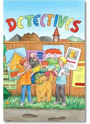 personalisiertes Detektivbuch