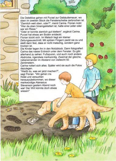 Detektivbuch personalisiert Seite 12