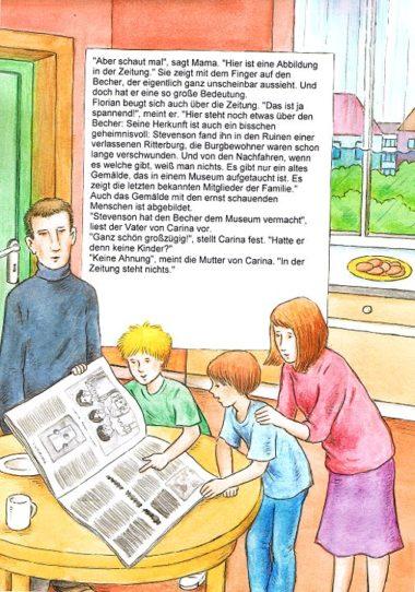 Detektivbuch personalisiert Seite 4