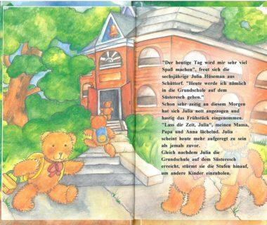 Einschulungsgeschenk Buch Die Schule