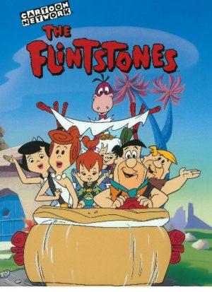 Flintstones (Familie Feuerstein) personalisiertes Buch Cover