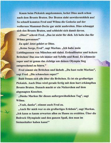 Flintstones (Familie Feuerstein) personalisertes Buch Leseprobe 12