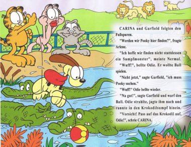 Personalisiertes Garfield Buch