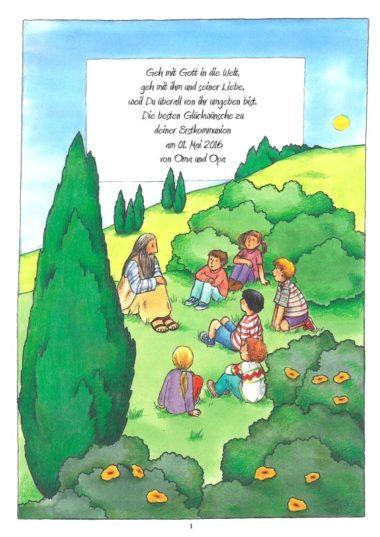 Erstkommunion Spruch Kinderbibel