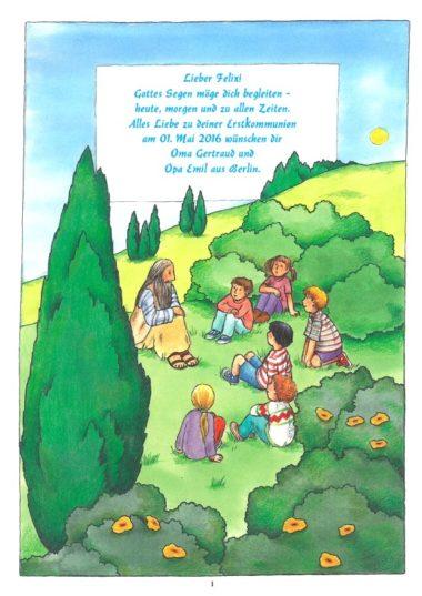 Kinderbibel Spruch Gottes Segen