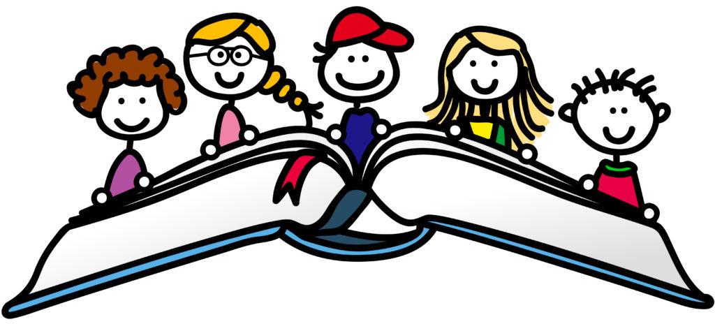 Kinder lesen im personalisierten Buch