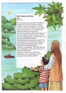 Kinderbibel Leseprobe Seite 2