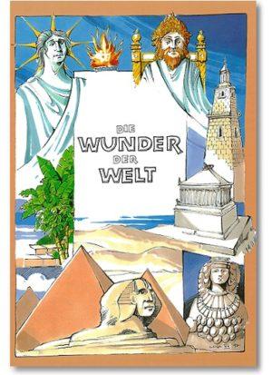 personalisiertes Buch über Weltwunder