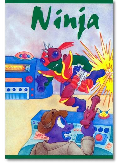 Ninja - Weltraumabenteuer Bubenbuch
