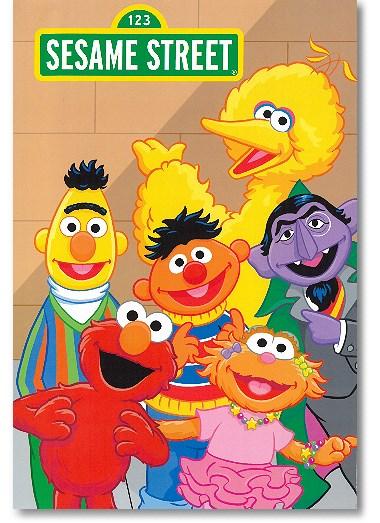 Sesamstraße Kinderbuch personalisiert