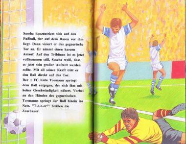Fußballbuch personalisiert Leseprobe