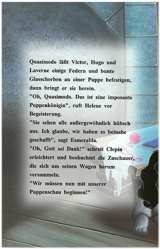 """Leseprobe Retro Kinderbuch """"Der Glöckner von Notre Dame"""" Seite 18"""