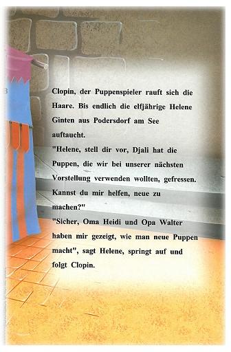 """Leseprobe Retro Kinderbuch """"Der Glöckner von Notre Dame"""" Seite 3"""