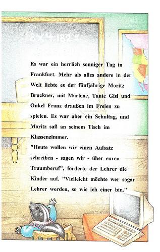 """Leseprobe aus dem personalisierten KleinkinderBuch """"Wenn ich einmal groß bin"""" Seite 3"""