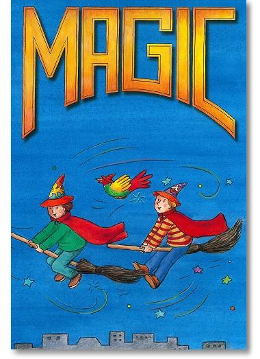 Zauberbuch für Kinder MAGIC