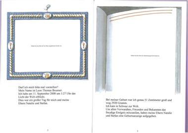 Mein großes Babybuch Leseprobe Seite 2-3