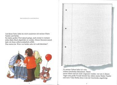 Mein großes Babybuch Leseprobe Seite 4-5