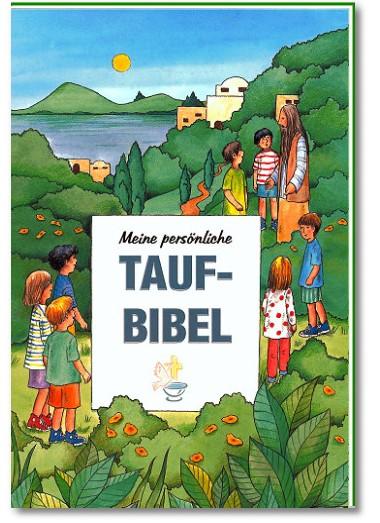 personalisiertes Taufbuch Taufbibel