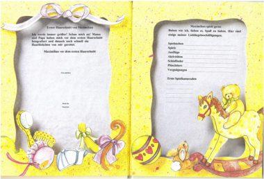 3. Leseprobe personalisiertes Babybuch