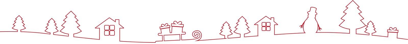 Weihnachtsgeschenke Linie