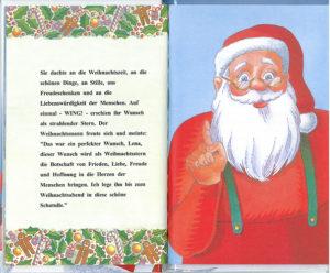 Weihnachtsmann - personalisiertes Buch