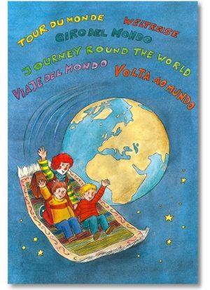 personalisiertes Weltreisebuch