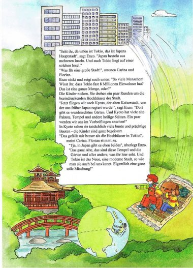 Weltreisebuch für Kinder - Tokio